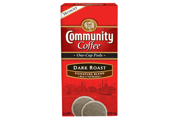 One Cup Coffee Pods 18 Count Dark Roast