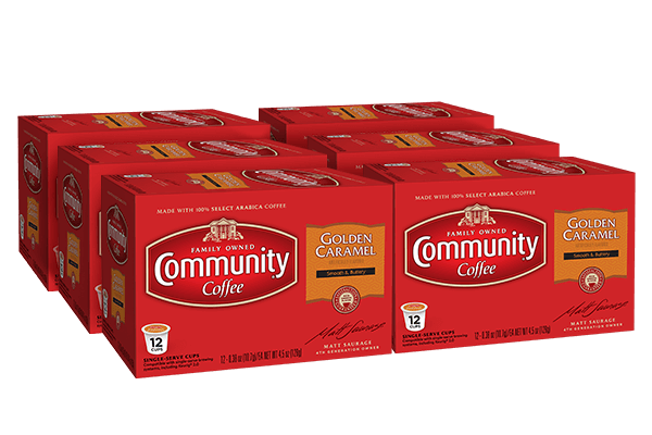 Golden Caramel Coffee Pods 72 count