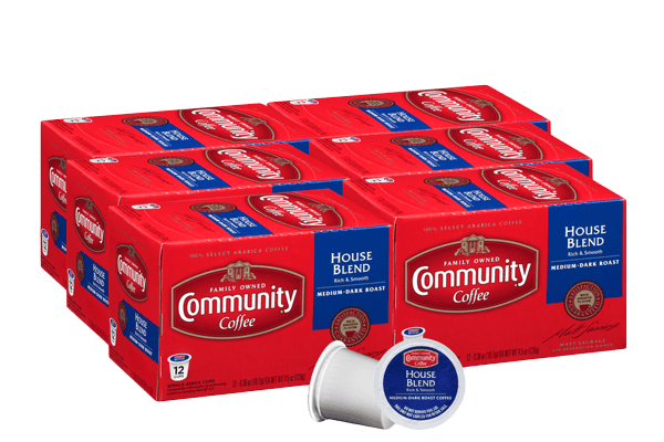 House Blend Coffee Pods 72 count