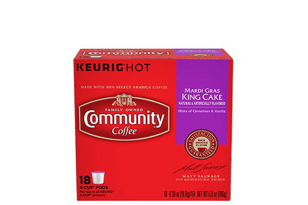 Mardi Gras King Cake K-Cup® Pods 18 count