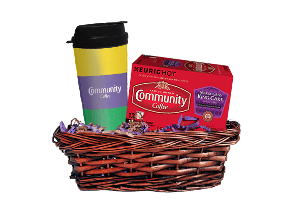 Mardi Gras K-Cup Gift Set