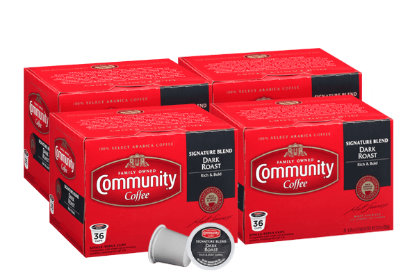 Signature Blend Dark Roast Coffee Pods 144 Count