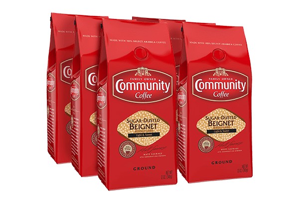 12 oz. Ground Sugar Dusted Beignet Coffee (Pack of 6)