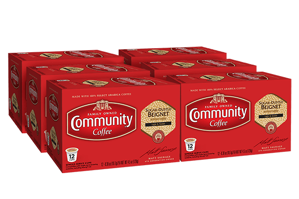Sugar Dusted Beignet Coffee Pods 72 count