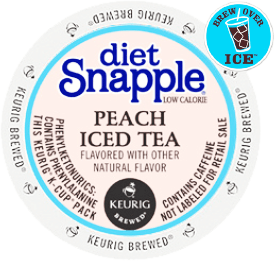 Snapple Diet Peach Iced Tea