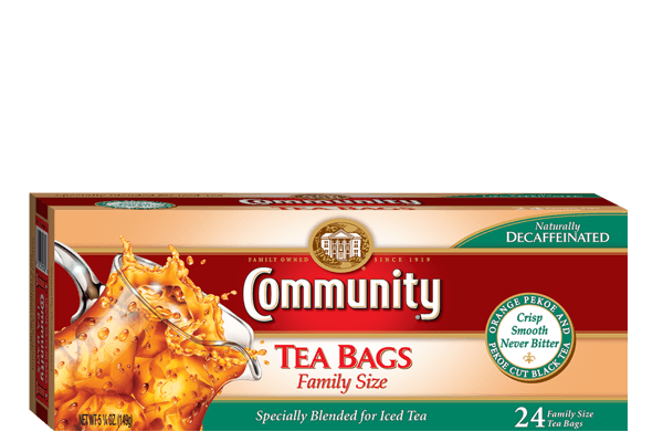24ct Decaf Family Size Tea Bags