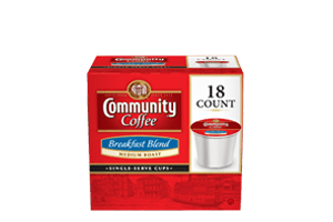 Breakfast Blend 1.0 Single Serve Cups 18 count