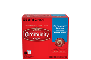 Breakfast Blend K-Cup Pods 18 count
