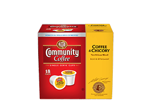 Coffee and Chicory 2.0 Single Serve Cups 18 count