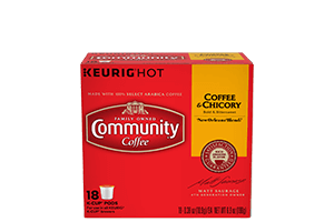 Coffee and Chicory K-Cup Pods 18 count