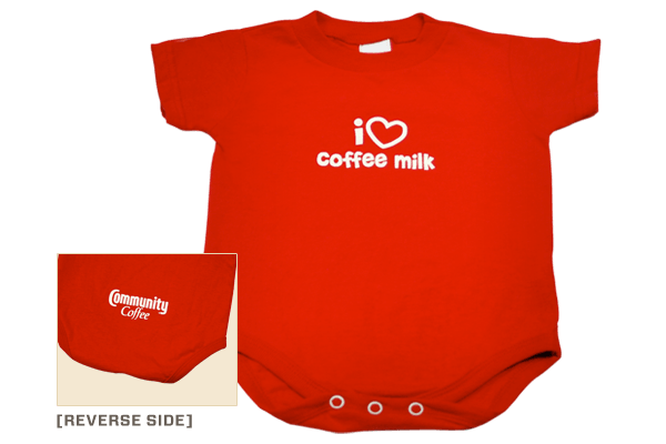 Community Coffee Baby Bodysuit