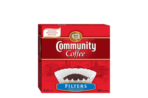 Community Coffee White Filters