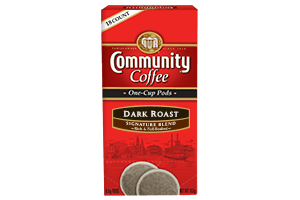 Dark Roast One Cup Pods 18 Count