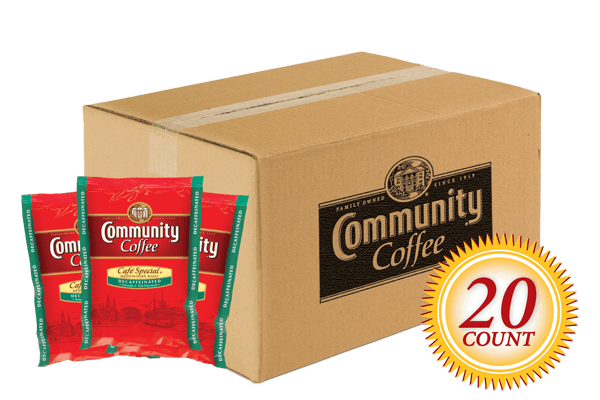 Decaf Pre Measured Packs 2.5 oz. 20 Count