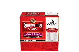 French Roast 1.0 Single Serve Cups 18 count