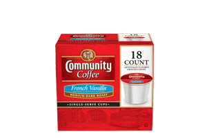 French Vanilla 1.0 Single Serve 18 count