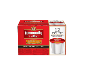 Golden Caramel 1.0 Single Serve 12 count