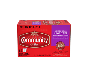 Mardi Gras King Cake K-Cup Pods 12 count