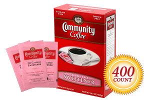 Pink Sweetener 400 Packets