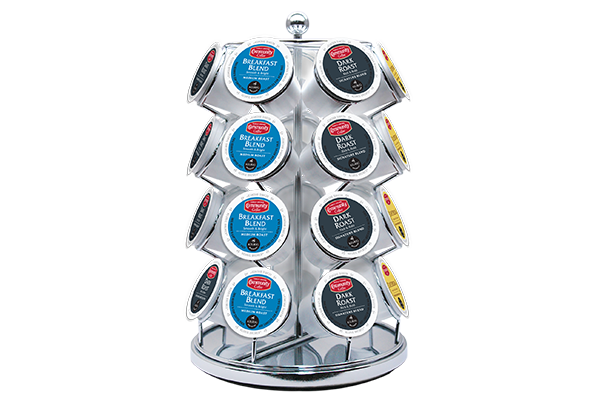 Single Serve Coffee Carousel