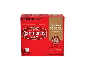 Toasted Hazelnut K-Cup Pods 18 count